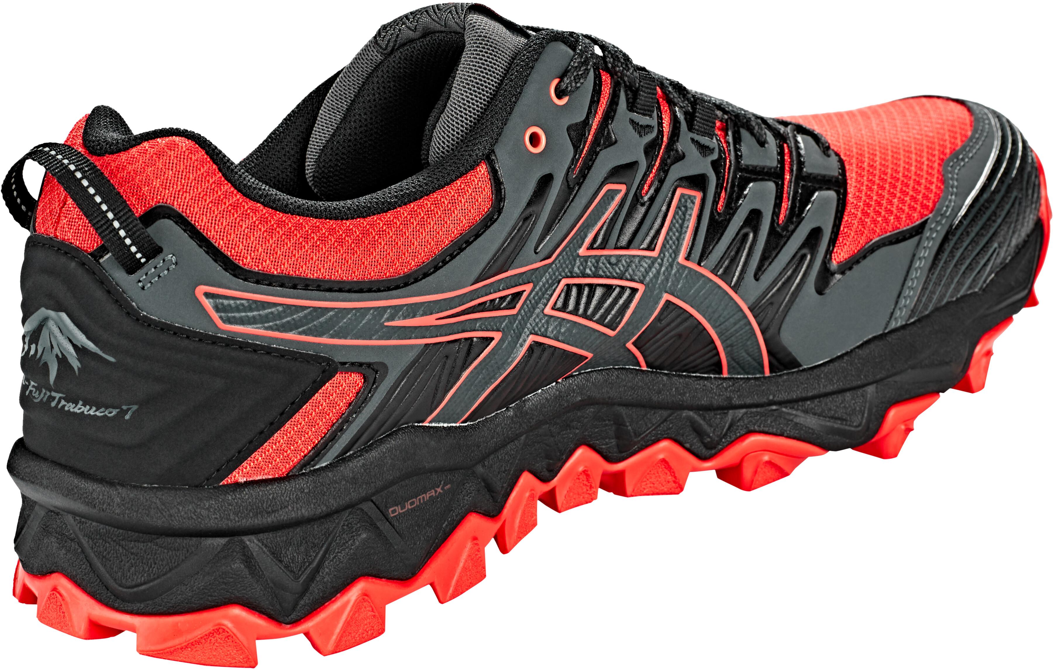 asics Gel-FujiTrabuco 7 G-TX scarpe da corsa Uomo grigio rosso su ... e0d70a9c160